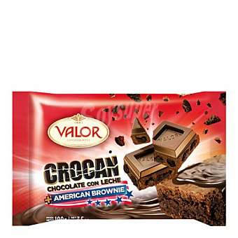 Valor Brownie de chocolate crocanti 100 g