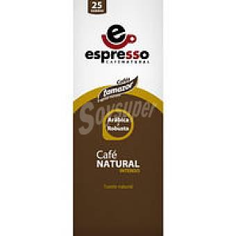TAMAZOR Café natural intenso Paquete 25 monodosis