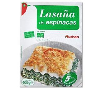 Auchan Lasaña Vegetal 400 Gramos
