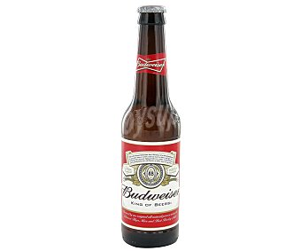 Budweiser Cerveza americana Botellín 330 ml
