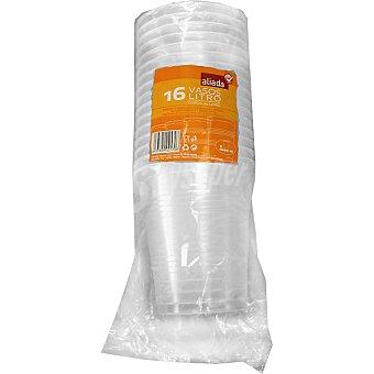 Aliada Vaso transparente paquete 16 unidades 16 unidades