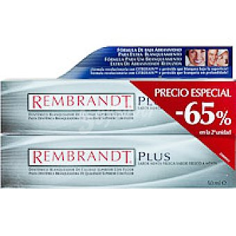 Rembrandt Dentífrico Duplo Plus Tubo 100 ml