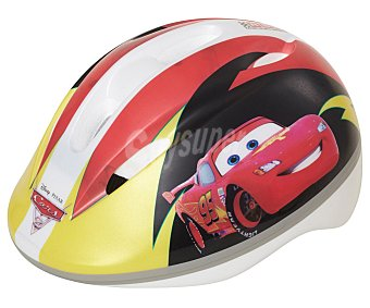 Disney Casco infantil para bicicleta o patines con diseño de Cars, talla S 1 unidad