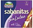 Lonchas de queso sin lactosa 8 uds 150 g. Hochland Sabanitas