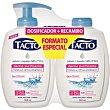 Jabón líquido de manos con agua micelar Pack 2 x 300 ml Tacto