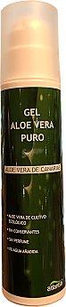 ATLANTIA Loción corporal aloe vera puro en gel Botella de 200 cc