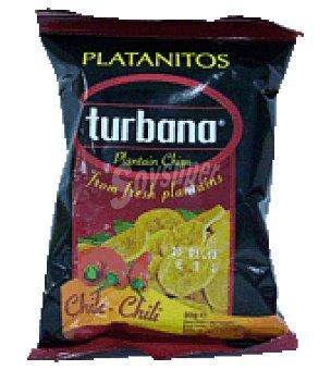 Turbana Platanitos sabor chile 30 g