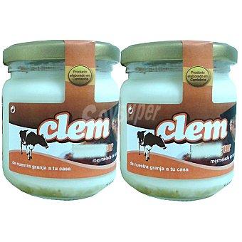 CLEM Yogur con mermelada de higo Pack 2 unidades 200 g