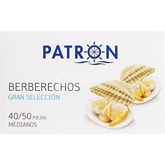 PATRON GRAN SELECCION Berberechos al natural lata 63 g neto escurrido 40-50 piezas Lata 63 g neto escurrido