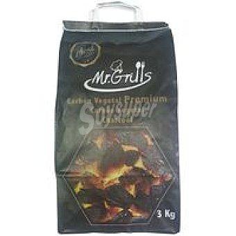 MR Carbón vegetal profesional grill Saco 3 kg