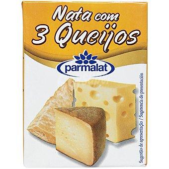 Parmalat Salsa nata con tres quesos Brik 200 ml