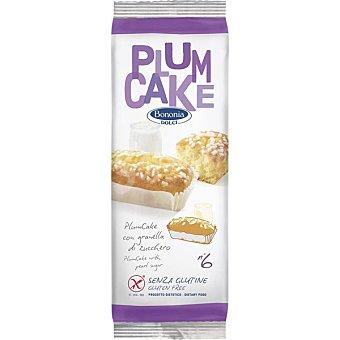 Bonomi plum cake con azúcar sin gluten envase 222 g