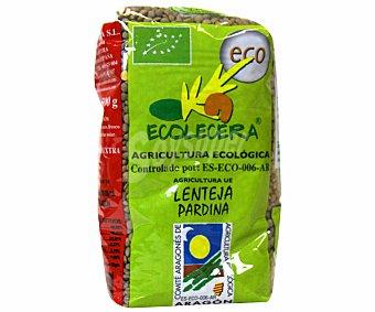 Ecocelera Lentejas pardinas de Aragón de cultivo ecológico 500 gramos