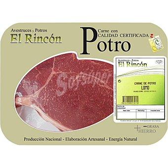 RINCON Lomo de potro Bandeja 500 g peso aprox. (2 unidades)