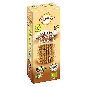 Bio-darma Galletas de avena con canela ecológicas 125 G 125 g
