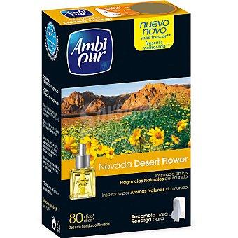 Ambipur Ambientador Electrico Nevada Desert Flower Recambio 18 ml