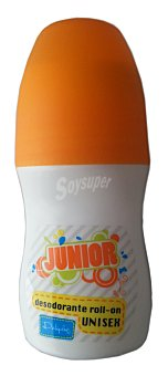 Deliplus Desodorante roll-on junior Bote 50 cc