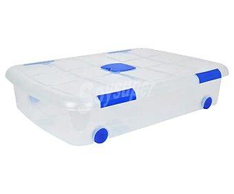 Taberseo Caja de ordenación bajocama de capacidad, 75x55x16cm 41 l.