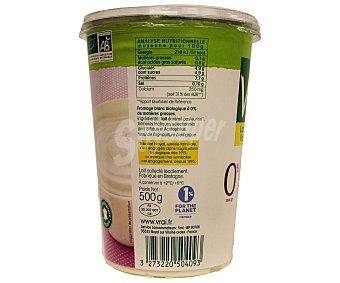 Vrai Queso fresco natural ecológico 0% materia grasa 500 gramos