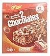 Barrita cereales 2 chocolates Caja 6 u Hacendado