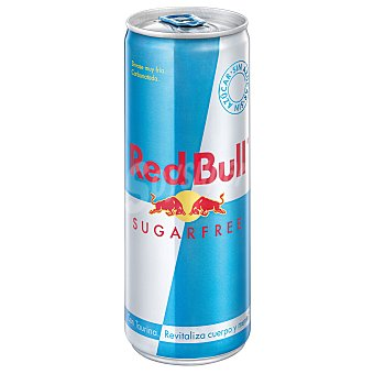 Red Bull Bebida energética sin azúcar Lata 25 cl