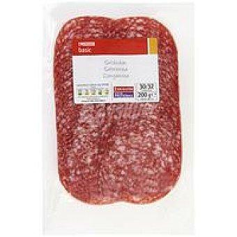 Eroski Basic Salchichón extra Sobre 200 g
