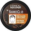 Barber Club cera de fijación look clásico Tarro 75 ml L'Oréal Men Expert