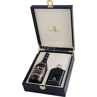 LUIS FELIPE Brandy Gran reserva estuche 1 botella 70 cl + petaca Estuche 1 botella 70 cl