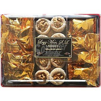 LOYZ MAR cesta Aglaya con pistacho pelado, avellana cruda, nuez pelada, almendra cruda repelada y macadamia cruda cesta  230 g