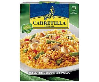 Carretilla Paella de pollo con verduras Tarrina 250 g