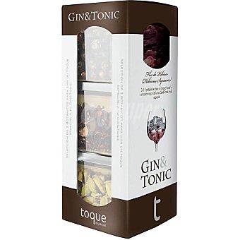 Toque Especias para cócteles selección de 3 botánicos para gin&tonic Estuche 35 g