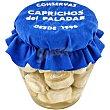 Alcachofas al natural 30 frutos Frasco 210 g Caprichos del paladar