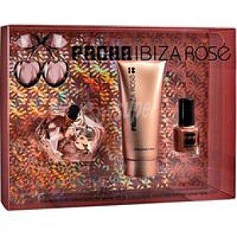 Pachá Ibiza Colonia Ibiza Rosé Vaporizador 80 ml + body milk + laca uñas