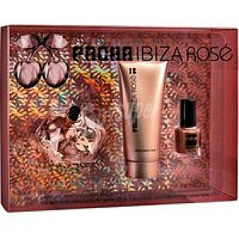Pacha Colonia Ibiza Rosé Vaporizador 80 ml + body milk + laca uñas