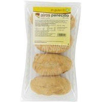 Airos Panecillo sin gluten Paquete 200 g