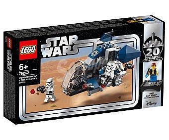 LEGO Star Wars 75262 Juego de construcciónes Nave de Descenso Imperial (edición 20 Aniversario) con 125 piezas, Star Wars 75262 lego.