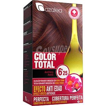 Azalea Tinte Color Total coloración permanente avellana 6'25 efecto anti-edad Caja 1 unidad