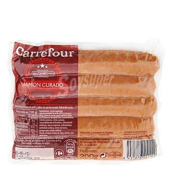 Carrefour Salchicha con jamón 200 g
