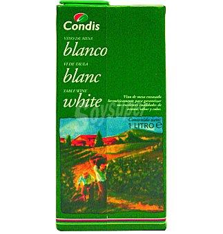 Condis Vino blanco Brick 1 l