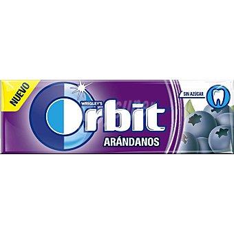 Orbit Chicles de arándanos sin azúcar Paquete 10 u
