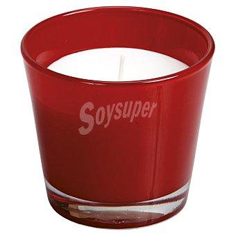 SPAAS Vela Perfumada en vaso cónico en color rojo