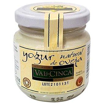 VAL DE CINCA Yogur natural de oveja Tarro 125 g