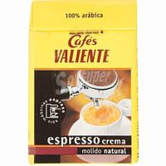 Cafés Valiente Café espresso natural Paquete 250 g