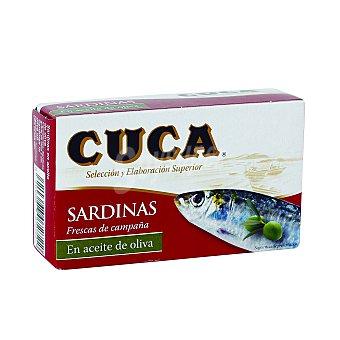 Cuca Sardinas en Aceite de Oliva Lata de 85 g (peso escurrido)