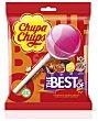 Caramelos con palo de sabores surtidos 10 unidades 120 g Chupa Chups