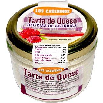 LOS CASERINOS Tarta de queso tarro de 125 g