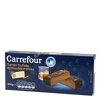 Carrefour Turrón trufado de chocolate al whisky 300 g