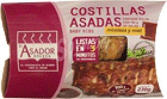 Costilla parrilla miel/mostaza 230 GRS