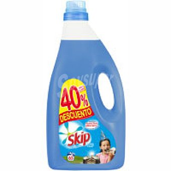 Skip Detergente líquido azul Botella 65 dosis