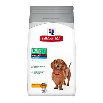 Hill's Science plan perfect weight pienso para perros mini con bajo contenido en grasa con pollo Bolsa 6 kg